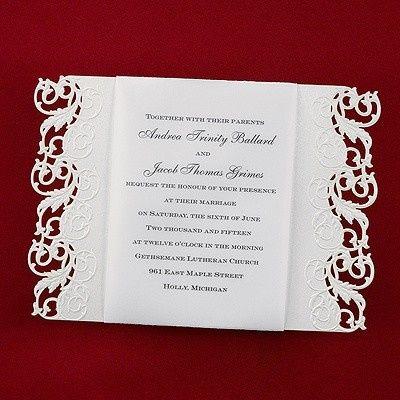 Tmx 1381259626562 Laceelegantinvitations Conshohocken wedding invitation