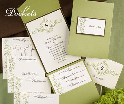 Tmx 1381259630444 Lightgreenpocketweddinginvitations Conshohocken wedding invitation