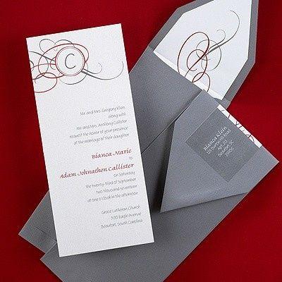 Tmx 1381259633701 Oblongweddinginvitationsgreylongenvelope Conshohocken wedding invitation