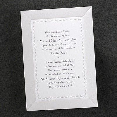 Tmx 1381259637263 Plainweddinginvitations Conshohocken wedding invitation