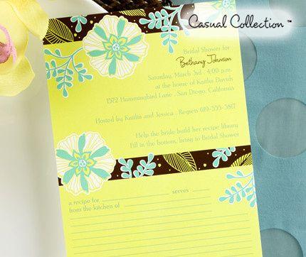 Tmx 1381259642720 Recipecardbridalshowerinvitations Conshohocken wedding invitation