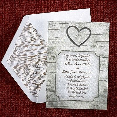 Tmx 1381259647508 Uniquegreywoodgraininvitations Conshohocken wedding invitation