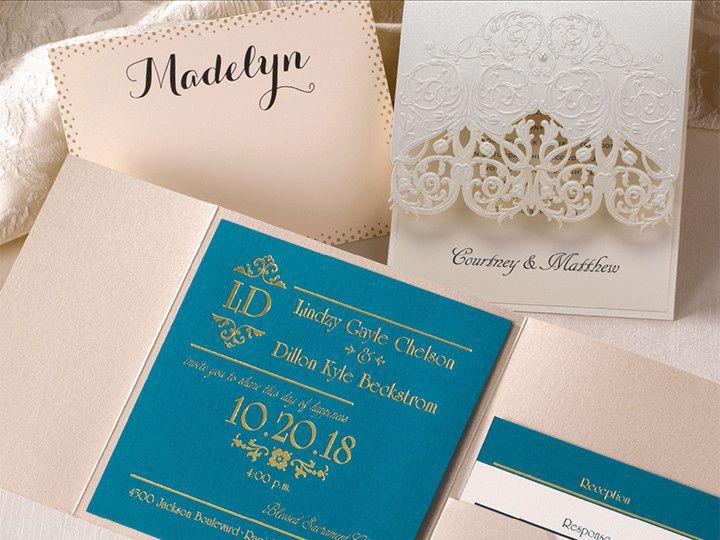 Tmx 1458158557212 Sophisticatedelegance1 Conshohocken wedding invitation