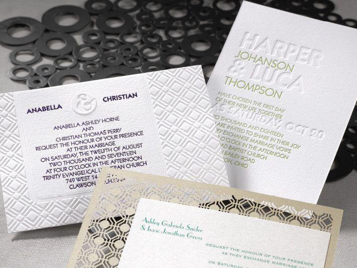 Tmx 1458158574798 Sophisticatedelegance2 Conshohocken wedding invitation