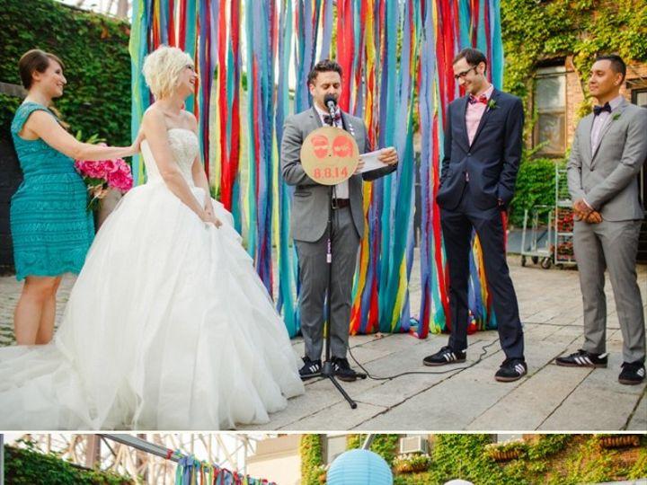 Tmx 1421300984355 Colorful Nyc Wedding Foundry Wedding Jove Meyer Ev Brooklyn wedding planner