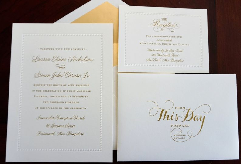 William Arthur Invitation
