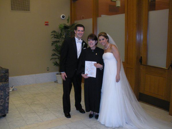 Tmx 1323816421359 BurcuBillTheBostonPublicLibrary2 Malden, MA wedding officiant
