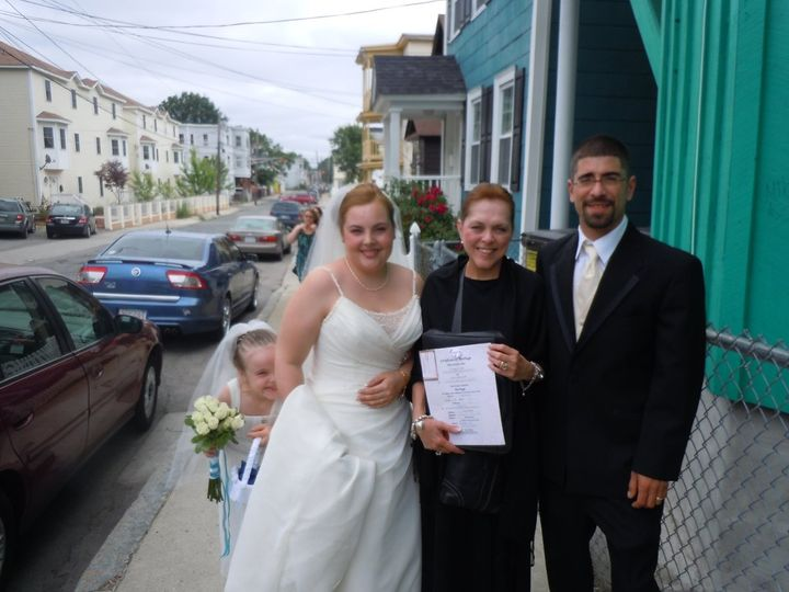 Tmx 1342459837686 ChastityAntonio Malden, MA wedding officiant