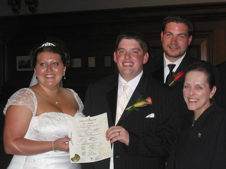 Tmx 1342466333141 AmyChris942005 Malden, MA wedding officiant