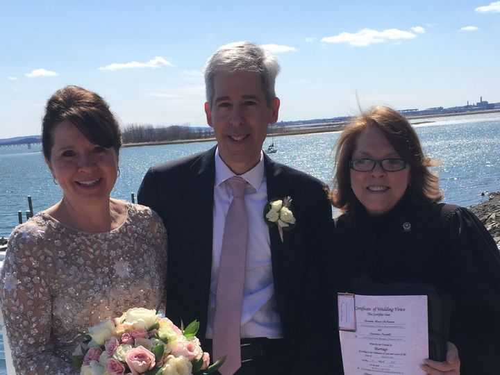 Tmx 1531747622 C3220f32741554df 1531747621 100bb6f9378c3bb2 1531747613758 9 Lorraine Larry Malden, MA wedding officiant