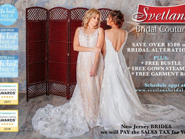 Tmx 1516304801 8812b79cc31ad477 1516304798 A4e9fc8dcff59cf9 1516304796954 1 Svetlanabridal2018 Port Chester, NY wedding dress