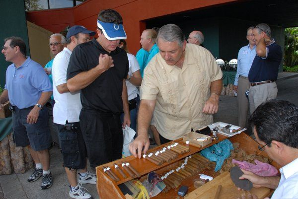 Frank Paul ... Presenting Cigars ...Maestro Tony Hand Rolling Cigars ...