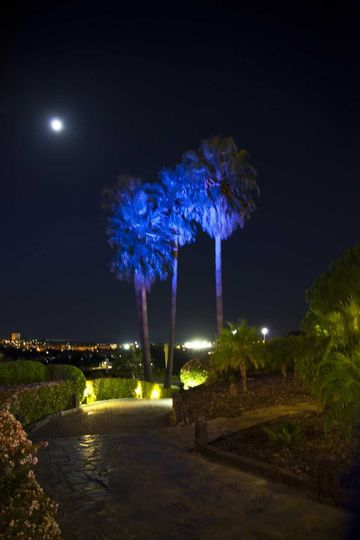 Full moon in magic nights at La Quinta