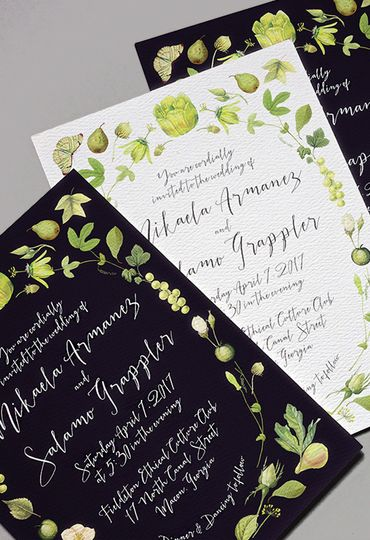 graphic relating to Printable Press called Printable Push - Invites - Brooklyn, NY - WeddingWire