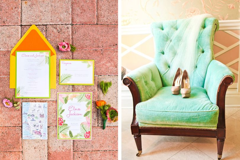 the majestic visionlilly pulitzer wedding at the c