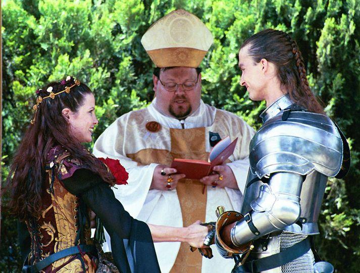 wedding wedding garden pavilion knight steve zalman