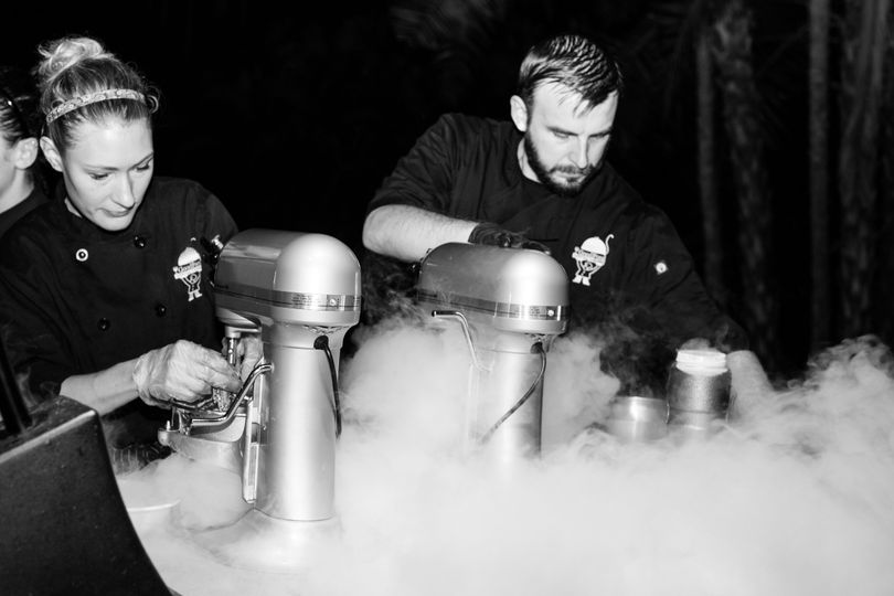 Liquid Nitrogen Ice Cream Bar