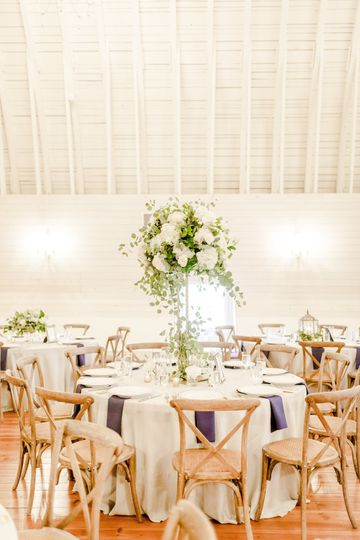 Round tables | Photo by Anna Taylor Photography