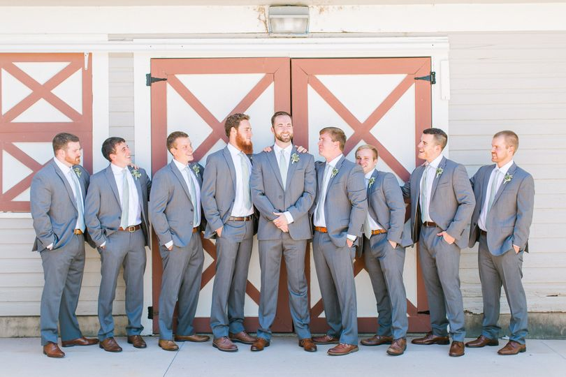 the groomsmen | Photo by Anna Taylor Photography