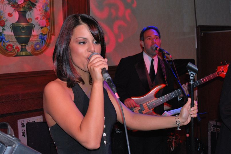 Pia & Vinny at Russo's on the Bay