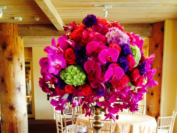 Tmx 1396320155827 Auberge Du Soleil Centerpiece Wine Country Flower Cotati wedding florist