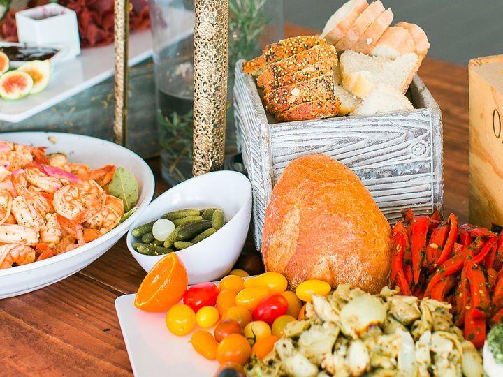 Tmx Gourmet Gang Shrimp Appetizers Table 51 50934 Norfolk, Virginia wedding catering