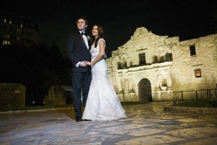 Bride & Groom In the Alamo