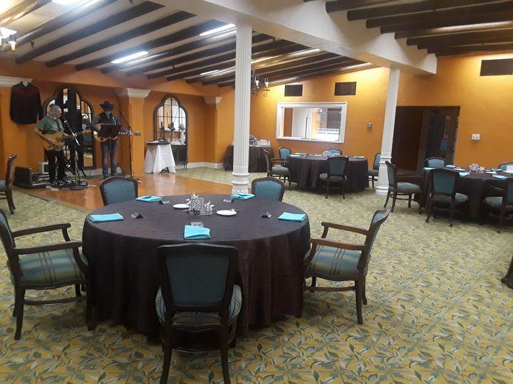 Patio room social 25 guests