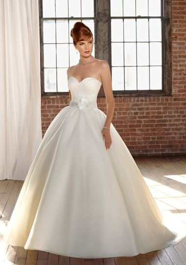 Mori Lee Blu collection wedding dress style 4808