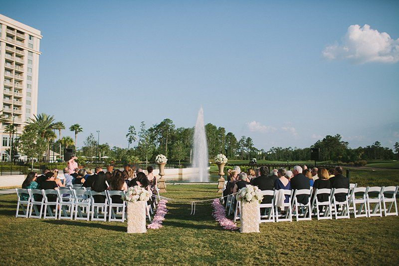 A beautiful ceremony at The Waldorf