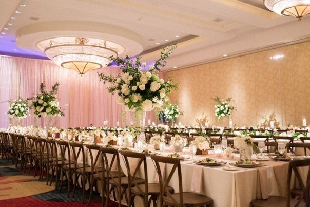 Omni Championsgate wedding with feasting tables