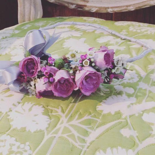 Burgundy & Purple Wedding