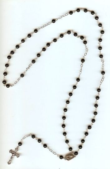 Rosaries are a great gift for the mothers of the bride and groom on your wedding day, have me custom...