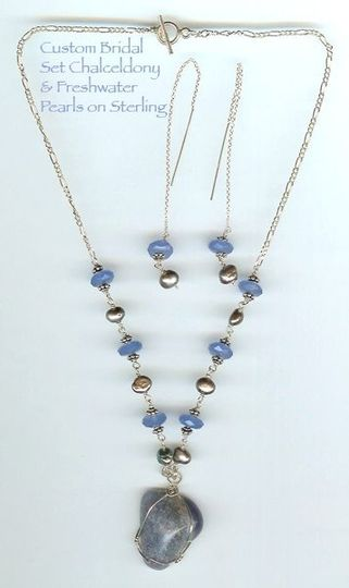 I can make each of your bridesmaids sets of jewelry including necklaces, earrings bracelets,...