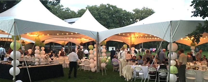 Tent & garden reception
