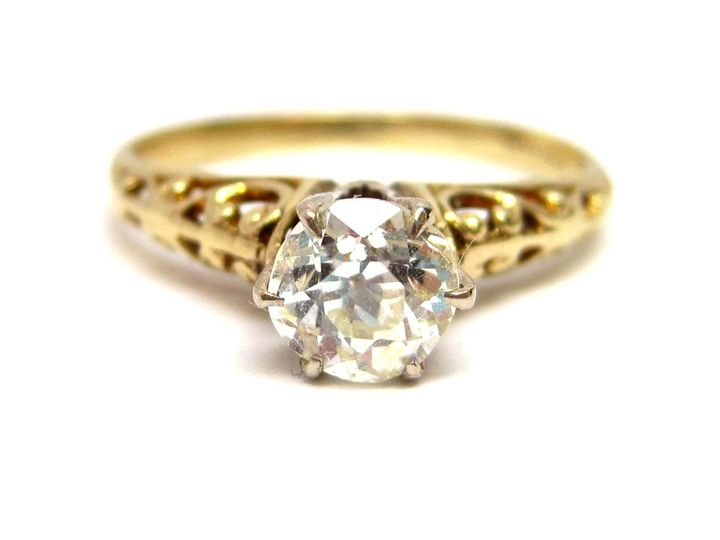 however, St. John & Myers specializes in antique, period correct and estate engagement rings so we...