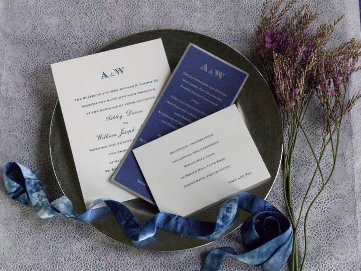 Tmx 1463600410603 Ashleyandliam New York, NY wedding invitation