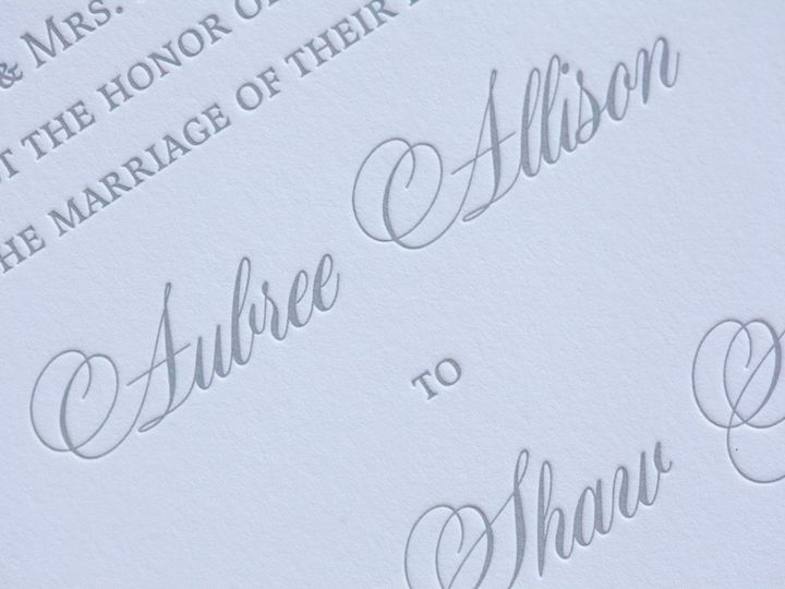 Tmx 1495118518338 Llbk03se118 Aubree  Trevor Wedding.4 New York, NY wedding invitation