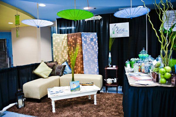 Just Beachy Events Booth 2010 OBX Wedding Expo