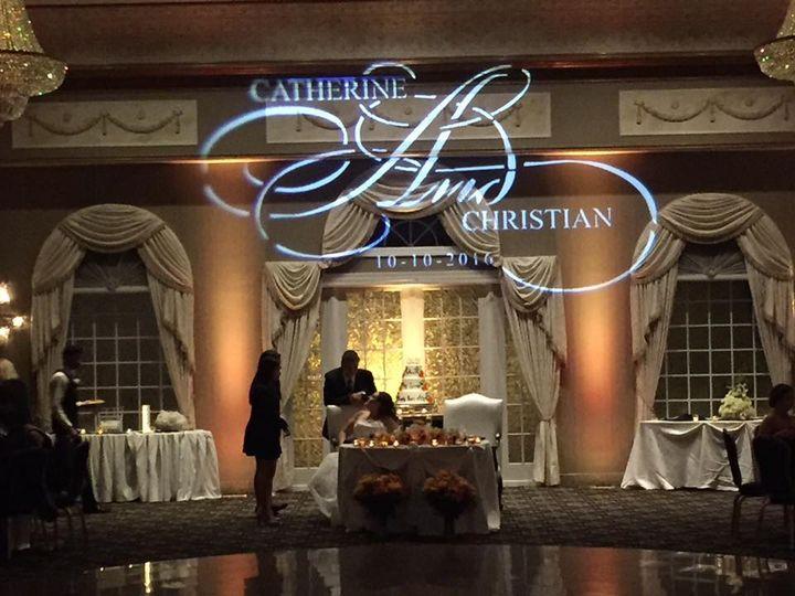 Tmx Custom Monogram Zenrgy Productions 51 627934 Pine Brook, NJ wedding dj