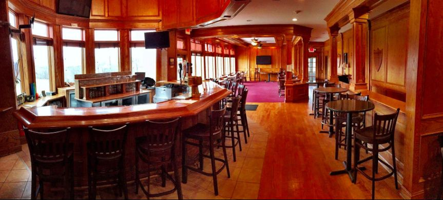 Our bar and grill room
