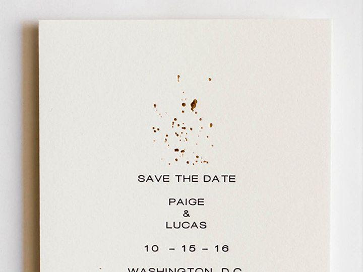 Tmx 1470957578065 Mikspress Wedding Gold Foil 1 Washington wedding invitation