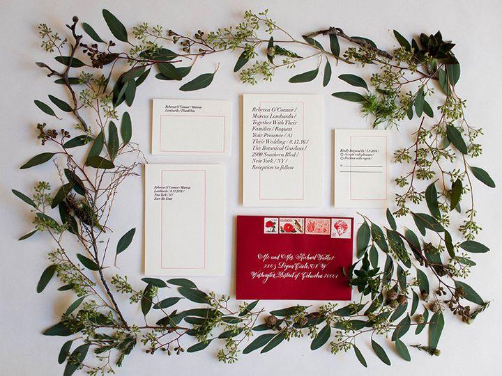 Tmx 1470957712786 Mikspress Wedding Rebecca Styled 1 Washington wedding invitation