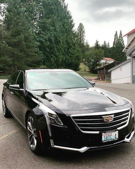 Cadillac CT6 at Carnation Farm