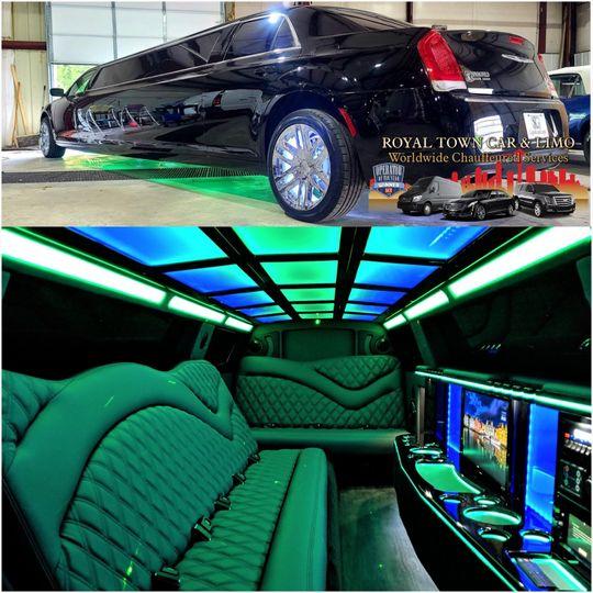 NEW Chrysler Stretch Limo