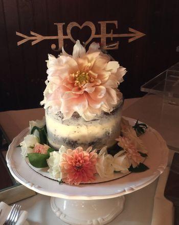 Cutting cake - wedding