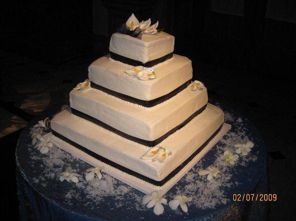 Tmx 1234231856461 Mandy%27sWedding011 Jessup, MD wedding cake