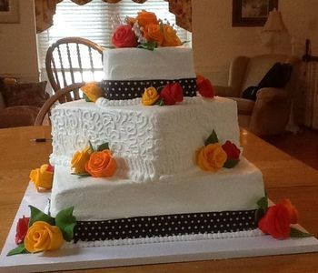 Wedding cake - fall