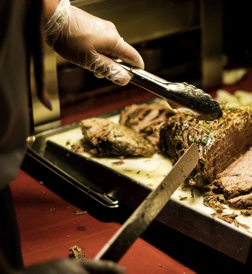 Roast Beef Carving Station