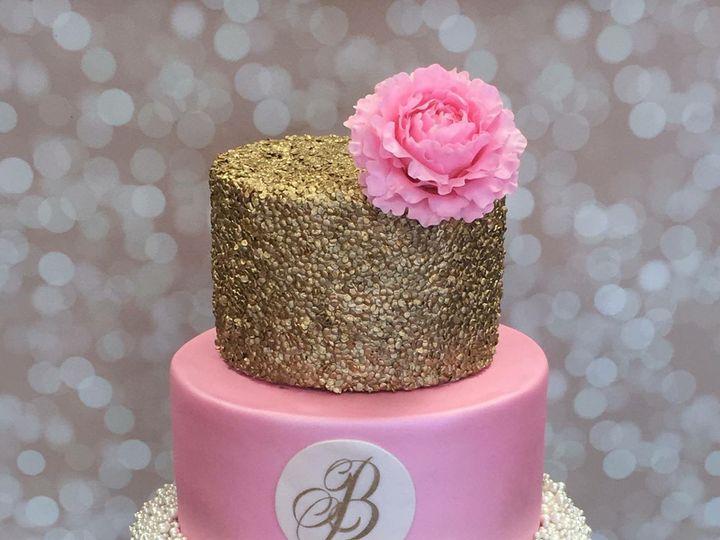 Tmx 1468013498390 Img1814 Santa Fe wedding cake